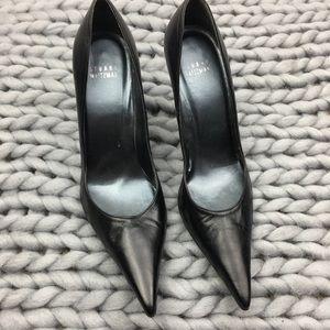 Stuart Weitzman classic pointed toe pumps heels